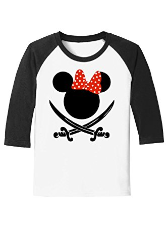 Youth Swords and Bows - Disney Cruise - Pirate Night Tee - with Personalization Option