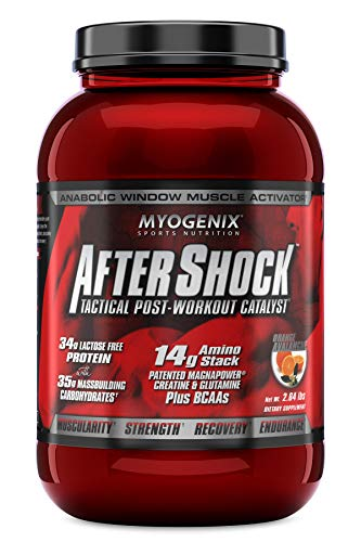 Myogenix - After Shock Tactical Post-Workout Catalyst Orange Avalanche - 2.64 lbs.