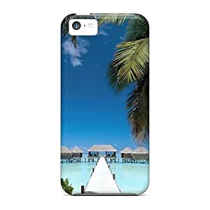 For Iphone Case, High Quality Conrad Rangali Island 7215 For Iphone 5c Cover Cases