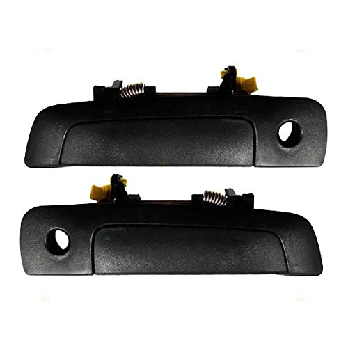 Pair Set Front Outside Outer Door Handles Replacement for Mitsubishi Eclipse Galant Chrysler Sebring Dodge Stratus MR777041 MR777049 AutoAndArt ()