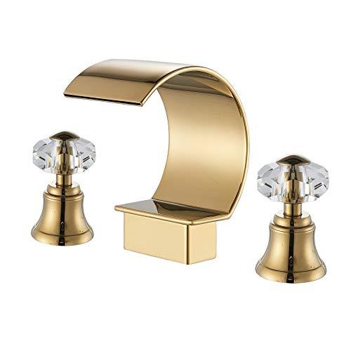 gold bathtub faucet - 7