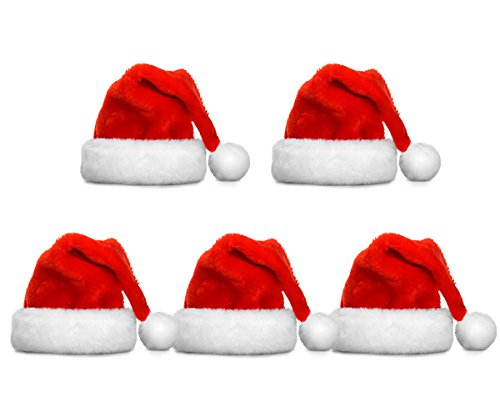 FATHER.SON Christmas hat and Santa hats (5pcs) -