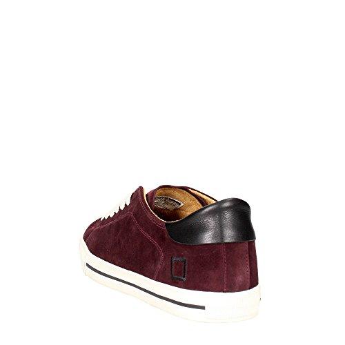 D.a.t.e. NET-20I Niedrige Sneakers Herren Bordeauxrot