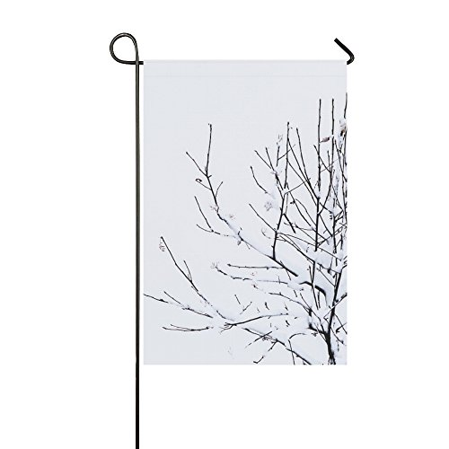 Home Decorative Outdoor Double Sided Tree Green Leaves Branches Leafy Plant Aura Garden Flag,house Yard Flag,garden Yard Decorations,seasonal Welcome Outdoor Flag 12 X 18 Inch Spring Summer Gift