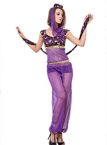 Female Genie Costumes (Sexy Genie Costume - Womens Belly Dancer Sexy Costume (M))