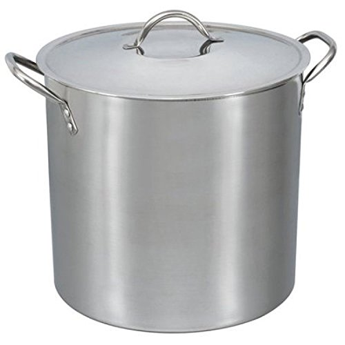 16-Qt Stainless Steel Stock Pot with Metal Lid New by Magic Tech (Image #1)