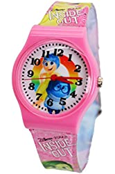 Disney/Pixar Inside Out Watch for Kids. Large Analog Display For Easy Reading And Learning Time.