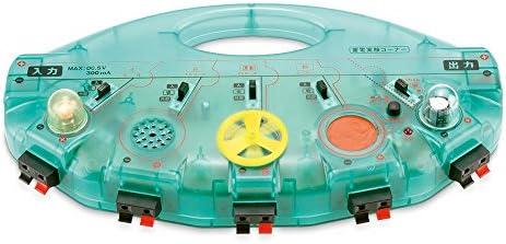 SUZUKI スズキ 手まわし発電機&電気変換実験セット エレチェンジャー ECO-303