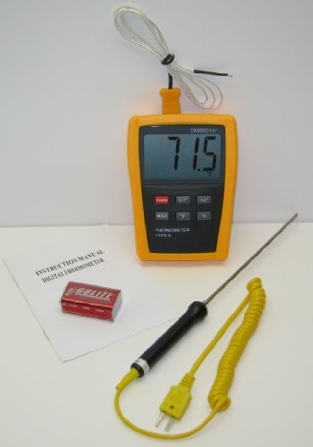 K-type-Scientific-Laboratory-Digital-Thermometer-DM6801-with-Stainless-Steel-Thermocouple-TC3