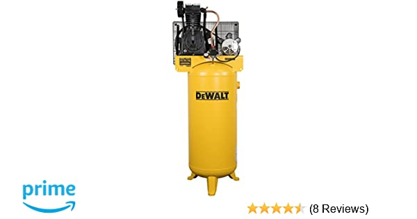 DeWalt DXCMV5076055 60 Gallon 5 Hp Two Stage Air Compressor