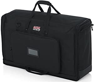 """Gator Cases Padded Nylon Carry Tote Bag for Transporting LCD Screens, Monitors and TVs Between 19"""" - 24"""" (G-LCD-TOTE-SM)"""