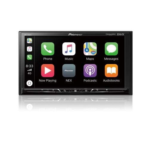 Pioneer DMH-1500NEX Digital Media Receiver with 7″ WVGA Display, Apple CarPlay, Android Auto, Built in Bluetooth