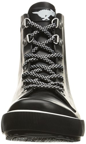 Women's Dog Rain Rainy Rocket Black Boot Rubber xRf8Tdw