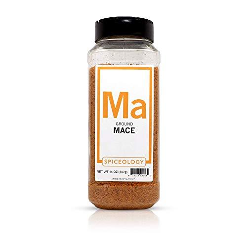 - Ground Mace Powder - Spiceology Dried Mace - 16 ounces