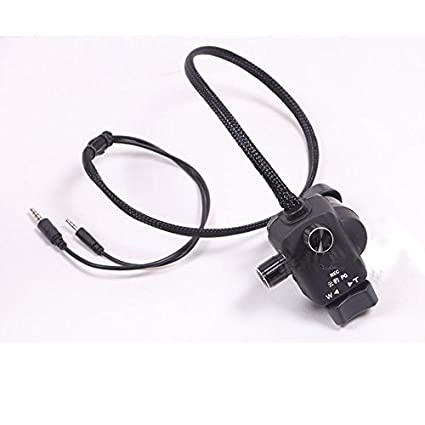 Yunbao Aperture Zoom Controller Cable Focus Remote Control for Panasonic  AC130 AC160 HMC43