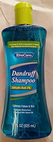 XtraCare 3% Salicylic Acid Dandruff Shampoo Compare to Active Ingredients in Selsun Blue Naturals Dandruff Shampoo by XtraCare