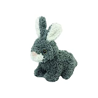 Multipet Look Who's Talking Plush Talking Rabbit Dog Toy, 6-Inch