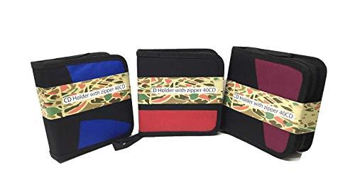 3pks - Capacity CD DVD Storage Case Disc Wallet Bag Album Wallet Case Holder - Holder 24 / Cd Dvd