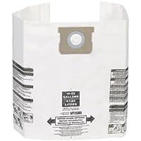 Multi-Fit Wet Dry Vacuum Bags VF2008 General Dust Filter Bag (3 Shop Vacuum Bags), Bag Filter For Most 15-Gallon To 22-Gallon Shop-Vac, Genie Shop Vacuum Cleaners by WORKSHOP Wet/Dry Vacs