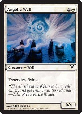 Magic: the Gathering - Angelic Wall (4) - Avacyn Restored