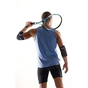 Elbow Sleeve By Rip Toned - (SINGLE) - Perfect Compression & Support for Tennis, Golf, Basketball & Weightlifting (Medium - SIZING GUIDE IN IMAGES)