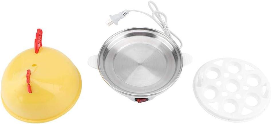 Cocedor eléctrico de huevos, huevos coctelería cuenco multifunción para cocina desayuno vapor huevos maíz codorniz huevo