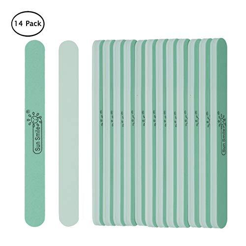 - 14pcs Fine Nail Buffer Files Smooth and Shine Natural Finger Nails Cushion Manicure at Salon or DIY Nail by E EVEBYRA