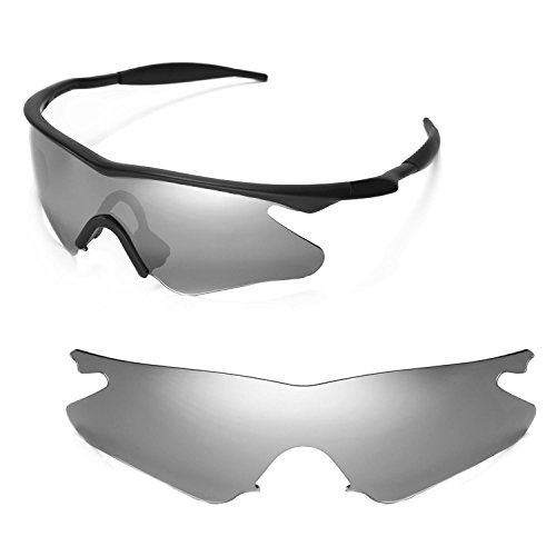 1dae372b863 Walleva Replacement Lenses or Lenses With Black Nosepad for Oakley M Frame  Heater - 40 Options Available - Buy Online in Oman.
