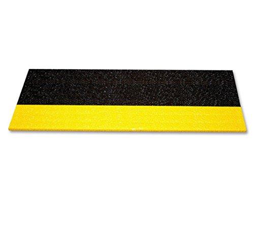 階段用滑り止めカバー 独特な表面構造 基材:FRP 表面:シリコンカーバイド made in USA 防水防油 耐紫外線と耐薬性 (914x150x25mm(36x6x1インチ), 黄/黒) B07B9R2TQQ 914x150x25mm(36x6x1インチ) 黄/黒 黄/黒 914x150x25mm(36x6x1インチ)