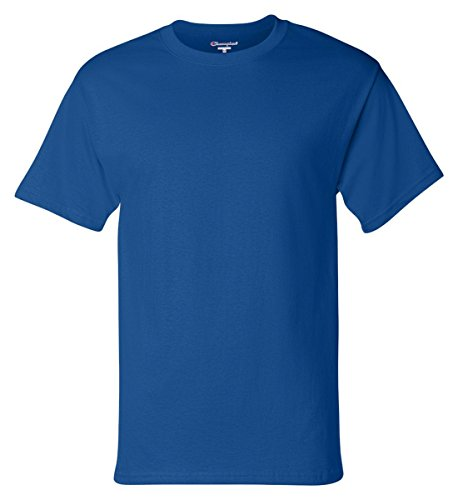 Feathers Adult T-shirt (Champion Adult Tagless T-Shirt - Royal Blue - XL)