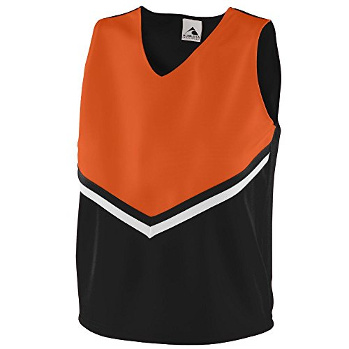 Outfit For Girls Cheerleader (Augusta Sportswear Girls' PRIDE SHELL L)