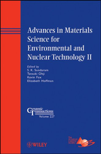 Advances in Materials Science for Environmental and Nuclear Technology II (Ceramic Transactions Series)