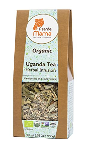 Asante Mama Premium Organic, Non-Gmo Herbal Infusion: Uganda Tea Herbal Infusion, A Smooth Blend Of Ginger, Lemongrass And Cinnamon