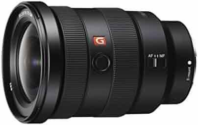 Sony SEL1635GM 16-35mm f/2.8-22 Zoom Camera Lens, Black