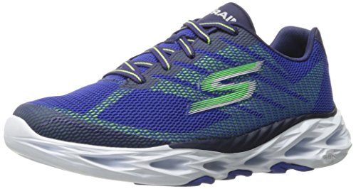 Skechers Performance Mens Go Train Vortex 2 Scarpa Da Passeggio Blu / Verde