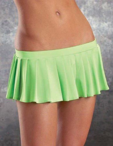 Escante Flirty Skirt. Pleated mini skirt.
