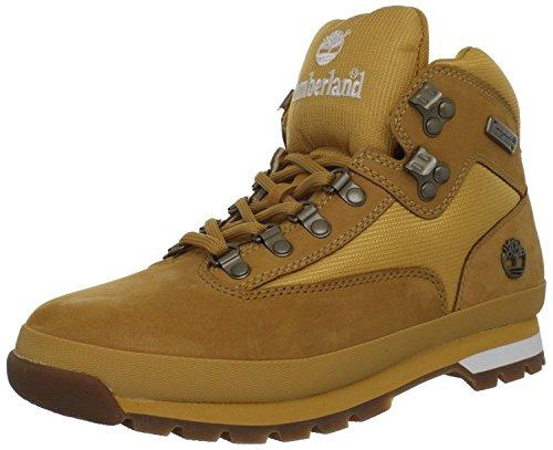 Timberland Men's Euro Boot, Wheat/white, 47.5 D(M) EU/12.5 D(M) UK