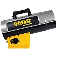DeWalt DXH150FAV Forced Air Propane Heater