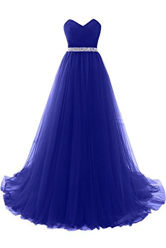 TOSKANA BRAUT -  Vestito  - linea ad a - Donna blu royal 40