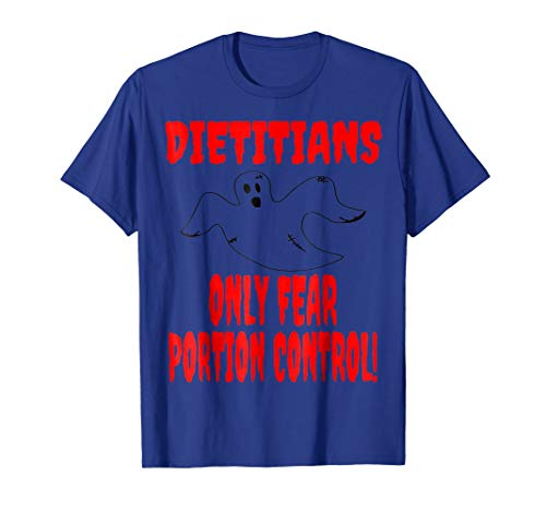 Dietitian Halloween Ghost T-Shirt|Funny Dietitian
