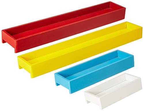 Artesia MDF Set of Four Wall Shelf/Wall Shelves