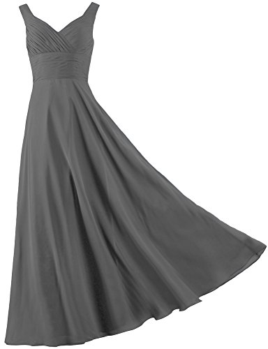 ants-formal-straps-pleated-long-straight-bridesmaid-dresses-prom-homecoming-size-8-us-grey