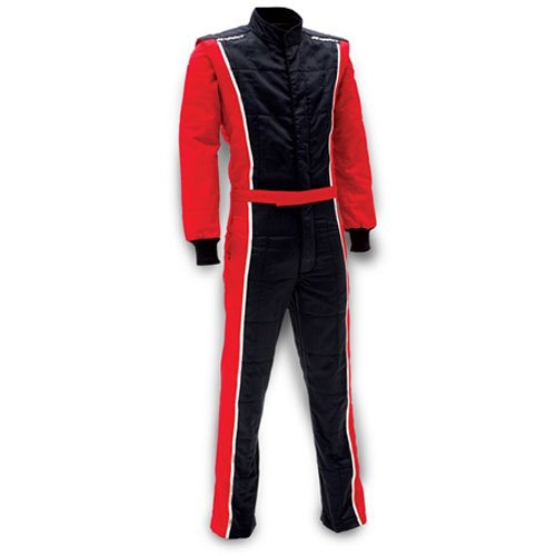 - Impact Racing 24215707 Racer Suit SFI 3.2A/5 Rated Red & Black