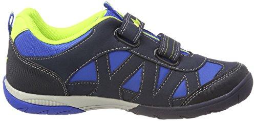 Lico Kolibri V H, Zapatillas Para Hombre Azul (Blau/marine/lemon Blau/marine/lemon)