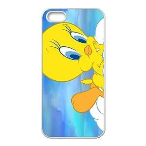 Tweety Bird iPhone 5 5s Cell Phone Case-White L4055405