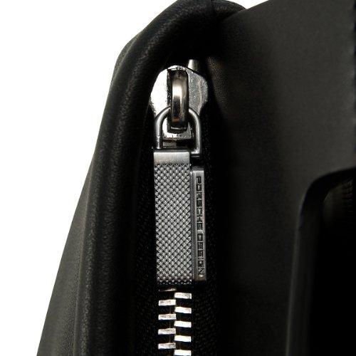 Porsche Design Shyrt-Leather ShoulderBag SV Umhängetasche Leder 24 cm