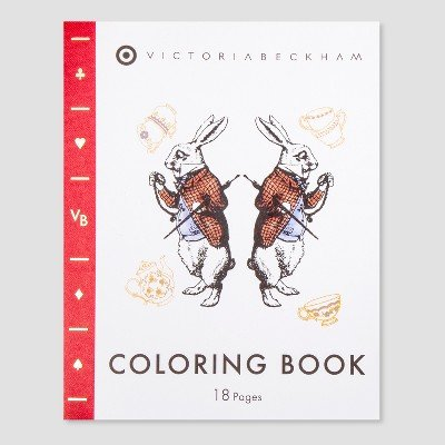Amazon.com: Victoria Beckham for Target Coloring Book - Limited ...
