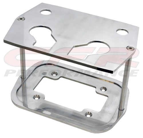 Tray Billet Battery - Smooth Polished Billet Aluminum Optima Battery Tray - Chevy/Ford/Mopar