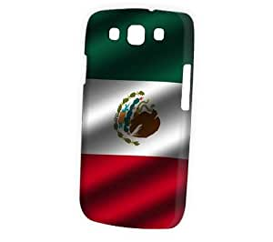 Case Fun Samsung Galaxy S3 (I9300) Case - Vogue Version - 3D Full Wrap - Flag of Mexico (World Cup)