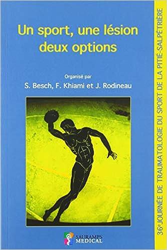 Amazon Fr Un Sport Une Lesion Deux Options 36e Journee